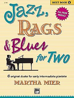 Martha Mier: Jazz, Rags And Blues For Two - Duet Book One