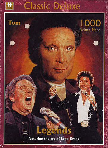 Legends - Classic Deluxe Jigsaw Puzzle: Tom Jones