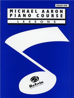 Michael Aaron Piano Course: Lessons - Grade One
