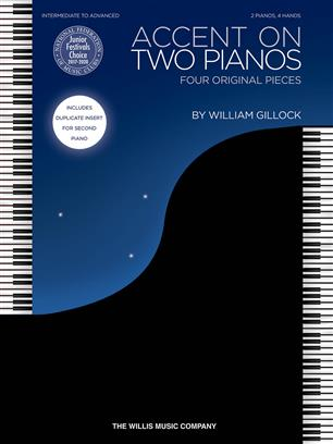 Gillock William Accent On Two Pianos 2 Pianos 4 Hands Book