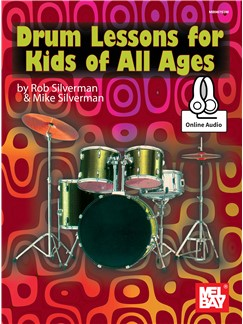 Drum Lessons For Kids Of All Ages (Book/Online Audio)