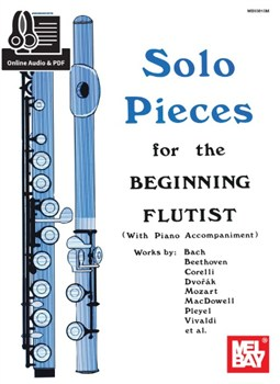 Solo Pieces For The Beginning Flutist (Book/Online Audio)