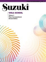 Sukuzi Viola School: Volume 5 Revised Edition - Piano Accompaniments Book (Revised Edition)