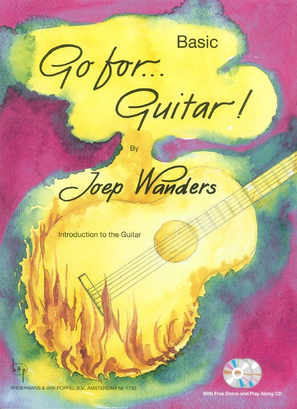 Joep Wanders: Go For...Guitar! - Basic (Book/2 CDs)