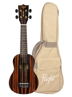 Flight: DUS460 Soprano Ukulele - Amaro (With Bag)