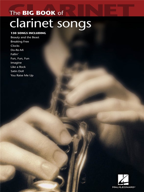 Big Book Of Clarinet Songs sólové skladby pro klarinet