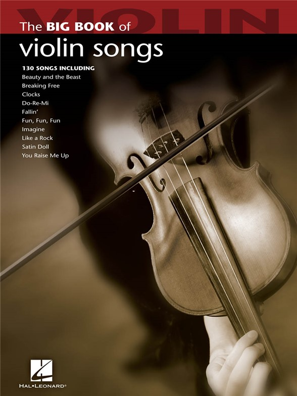 Big Book Of Violin Songs housle sólo