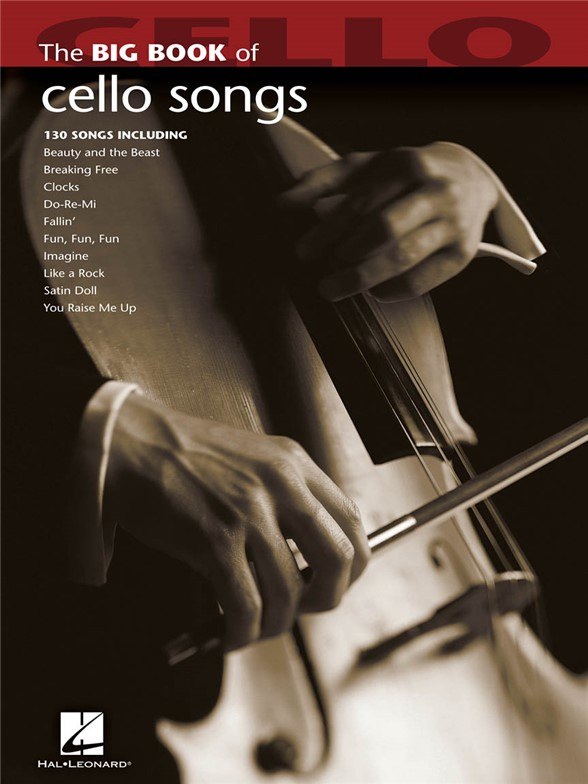 Big Book Of Cello Songs sólové skladby pro violoncello