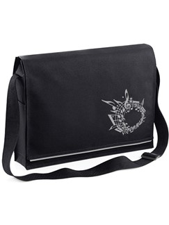 Mapac Black Music Messenger Bag