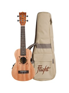 Flight: DUC523CEQ Concert Electro-Acoustic Ukulele (With Bag)