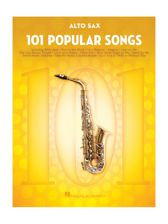101 Popular Songs - Alto Saxophone