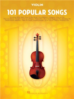 101 Popular Songs - Violin