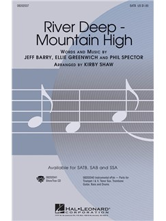 Tina Turner: River Deep - Mountain High (arr. Kirby Shaw SSA)