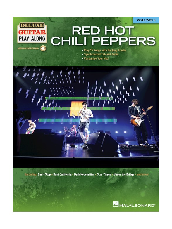 Red Hot Chili Peppers: Deluxe Guitar Play-Along