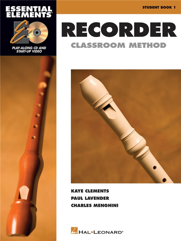 Essential Elements: Recorder - Classroom Method (Book/CD)