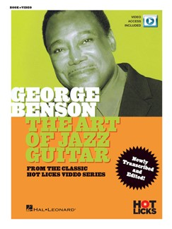 George Benson: The Art Of Jazz Guitar (Book/Online Video)