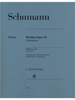 Robert Schumann: Myrthen Op. 25, Song Cycle