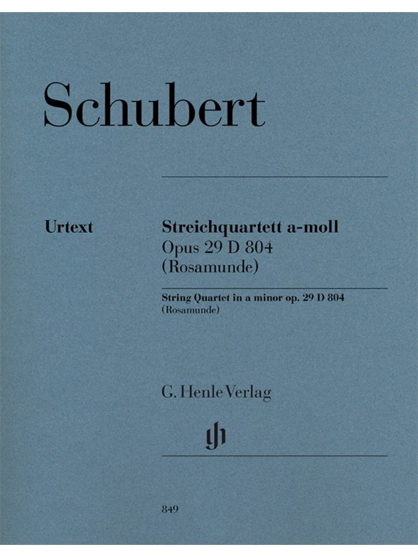 Franz Schubert: String Quartet A Minor Op. 29 D 804 (Rosamunde)