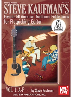 Steve Kaufman's Favorite 50 American Traditional Fiddle Tunes (Book/Online Audio)