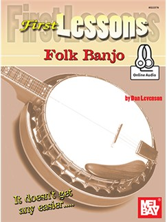 Dan Levenson: First Lessons Folk Banjo (Book/Online Audio)