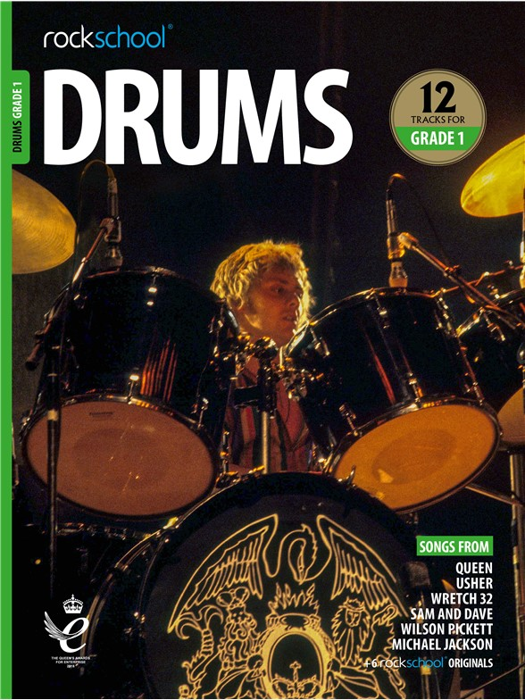 Rockschool: Drums Grade 1 2018+ (Book/Audio)