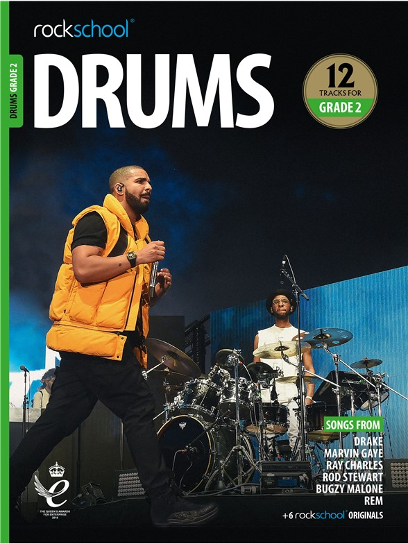 Rockschool: Drums Grade 2 2018+ (Book/Audio)
