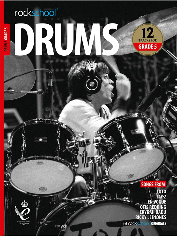 Rockschool: Drums Grade 5 2018+ (Book/Audio)
