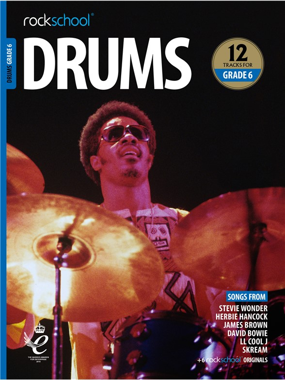 Rockschool: Drums Grade 6 2018+ (Book/Audio)