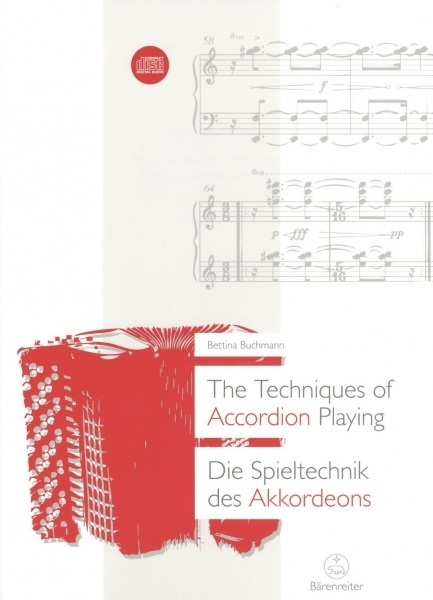 The Techniques of Accordion Playing + CD / technika hry na akordeon