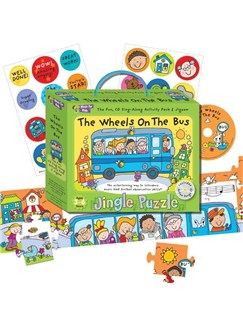 Music For Kids: Jingle Puzzle - The Wheels On The Bus
