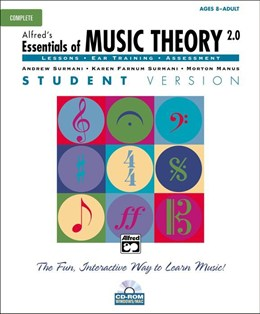 Alfred Essentials Of Music Theory: Student Version - Complete (CD-ROM)