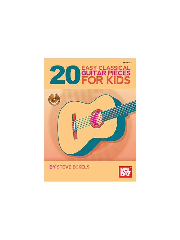 20 Easy Classical Guitar Pieces For Kids (Book/CD Set)