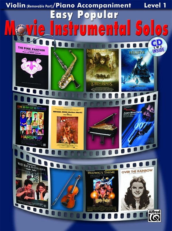 Easy Popular Movie Instrumental Solos - Violin And Piano Accompaniment