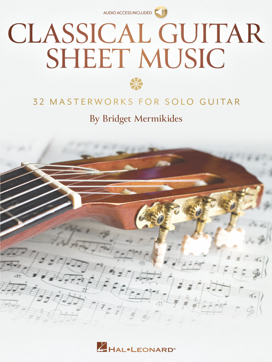 Classical Guitar Sheet Music - 32 Masterworks for Solo Guitar