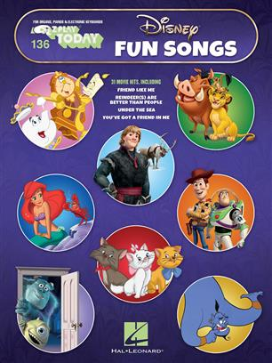 Disney Fun Songs - E-Z Play Today Volume 136