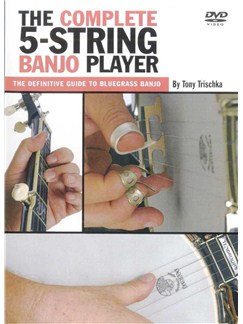 Tony Trischka: The Complete 5-String Banjo Player (DVD)